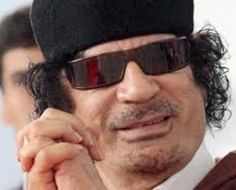 Sarkozi Qəddafidən danışdı
