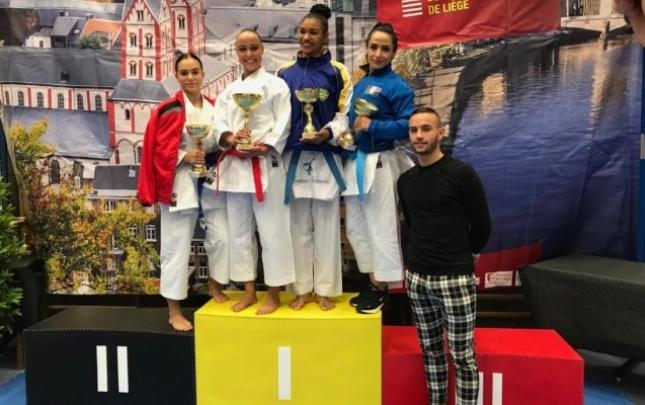 Karateçilərimiz Belçikada 2 medal qazandı
