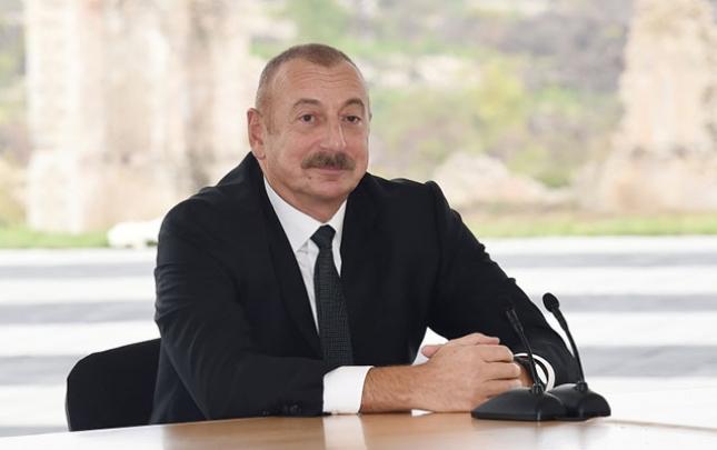 İlham Əliyev Türkiyə şirkətlərinə təşəkkür etdi