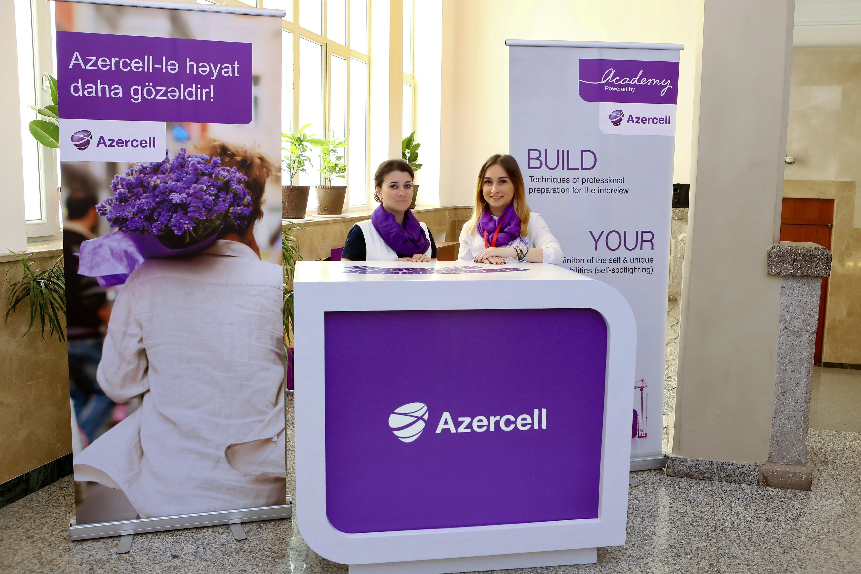 Azercell Karyera Sərgisində iştirak etdi