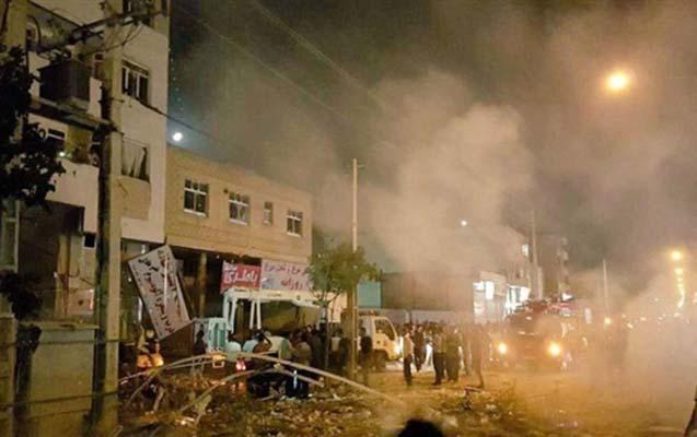 İranda ticarət mərkəzində partlayış, 32 yaralı var