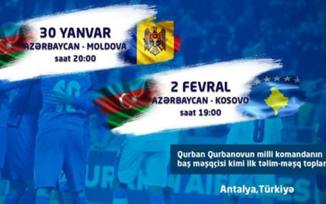 Azərbaycan – Kosovo matçının məkanı müəyyənləşdi