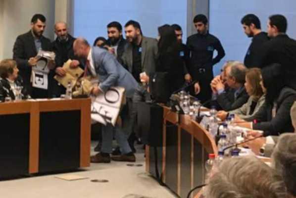 Ermənilərin Avropa Parlamentində keçirdiyi tədbir iflasa uğradılıb