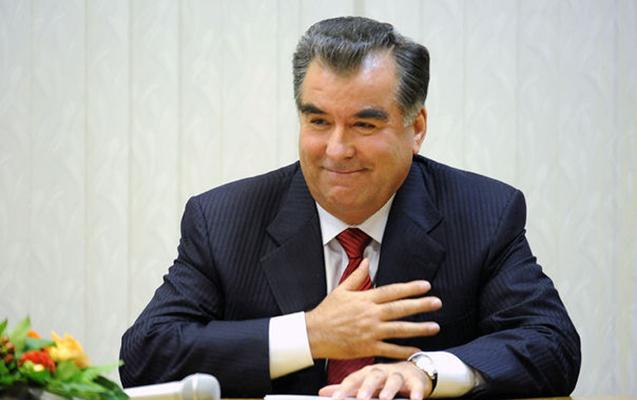Emoməli Rəhmon Azərbaycan prezidentini təbrik etdi