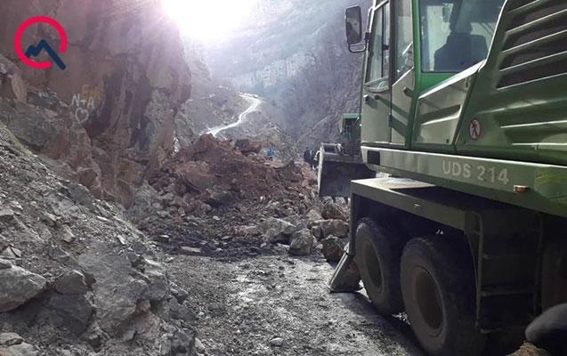 Quba-Xınalıq yolu açıldı