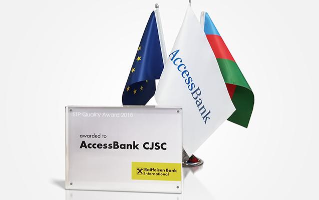 """""""AccessBank"""" daha bir nüfuzlu mükafata layiq görülüb"""