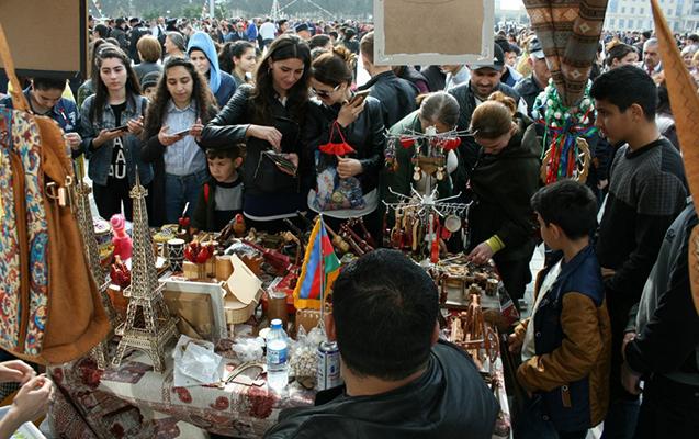 """""""Bölgələrdən bölgələrə"""" festivalı Neftçalada"""