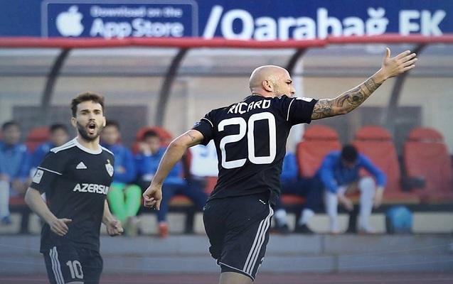 """""""Qarabağ"""" 3 xalı 3 qolla qazandı"""