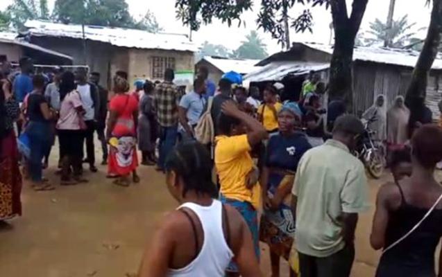 Liberiyada məktəb yandı