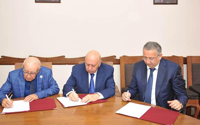 BMU ilə AMEA-nın iki strukturu arasında müqavilə imzalanıb