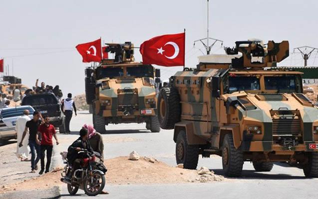 Türkiyə Suriyanın şimalında hərbi əməliyyata başladı