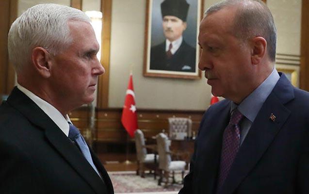 Ərdoğan ABŞ-ın Vitse-prezidenti ilə görüşdü