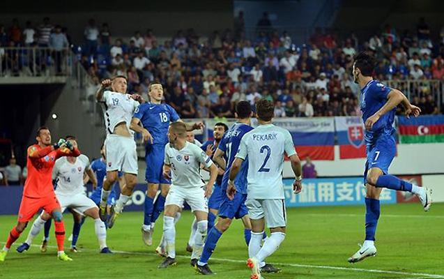 Slovakiya - Azərbaycan matçının stadionu dəyişdirildi