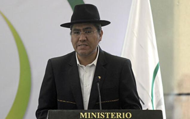 Boliviyada daha bir nazir istefa verdi