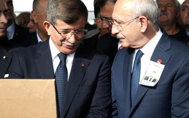Davudoğlu ilə Kılıçdaroğlu yan-yana