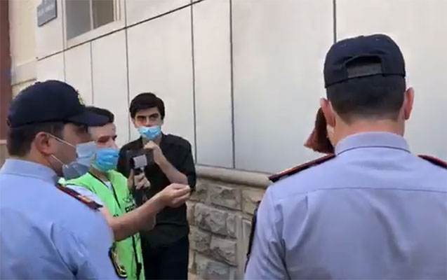 Təhsil Nazirliyi qarşısındakı aksiyaya görə 7 nəfər saxlanılıb