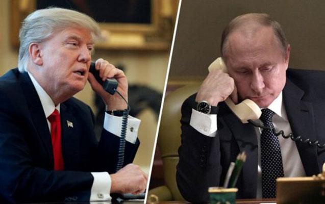 Putin Trampı təbrik etdi