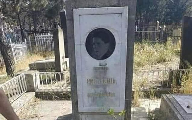 Asəf Zeynallının məzarı baxımsız vəziyyətdə...