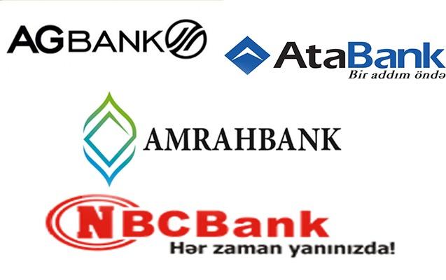 Bağlanmış 4 bank üzrə 181,4 milyon manat kompensasiya ödənilib