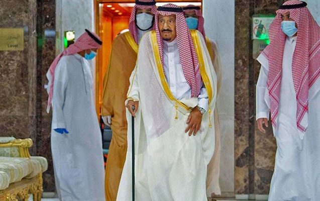 Kral Salman xəstəxanadan buraxıldı