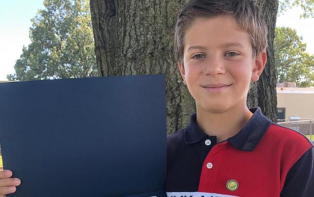 ABŞ-da 10 yaşlı azərbaycanlı Prezident mükafatı alıb