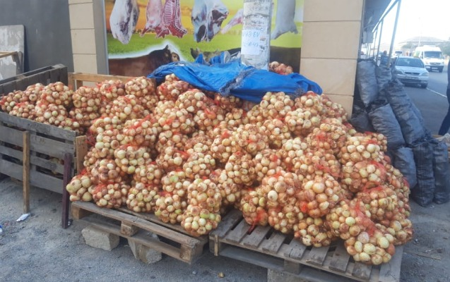 Abşeron RİH-dən satdığı soğanı yandıranla bağlı