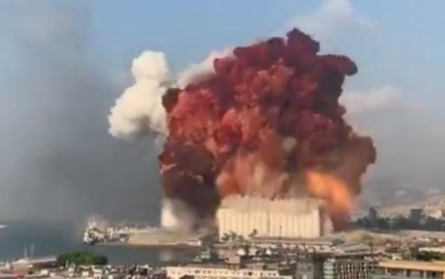 Beyrutda ard-arda güclü partlayışlar