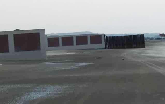 Pirşağıda villa sahibləri dənizi yenidən hasara alıb