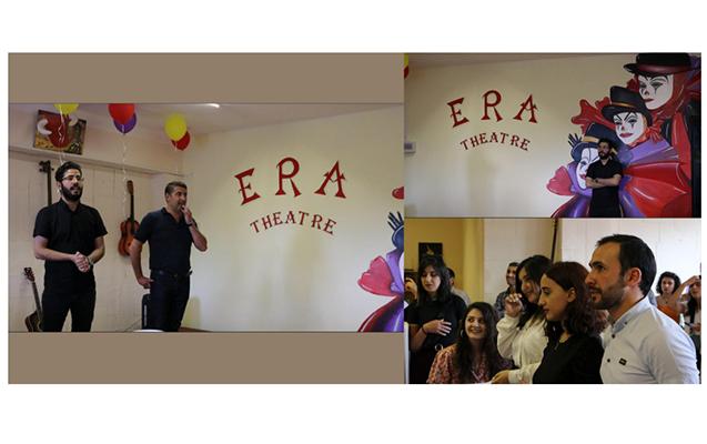 """Tbilisidə """"Era Teatrı""""nın yeni ofisinin açılışı olub"""