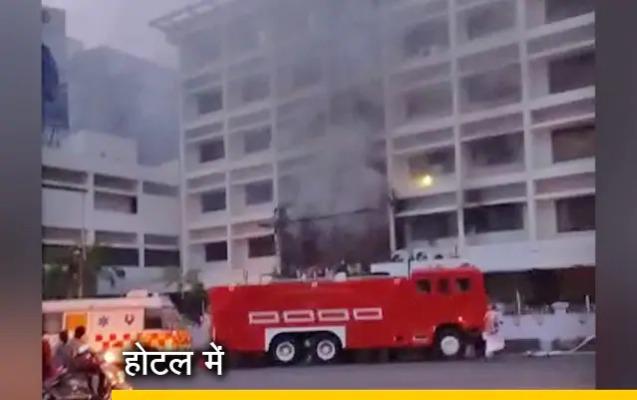 Hindistanda COVID-19 xəstələrinin olduğu hoteldə yanğın