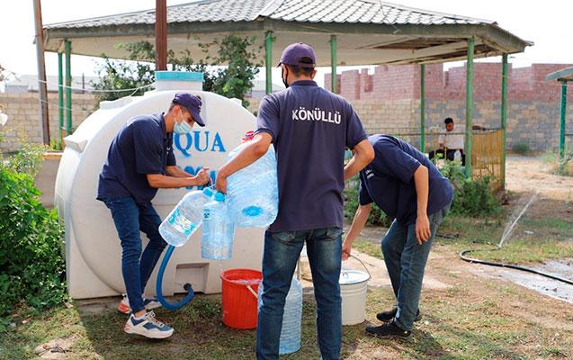 Neftçalada içməli su problemi aradan qaldırılır