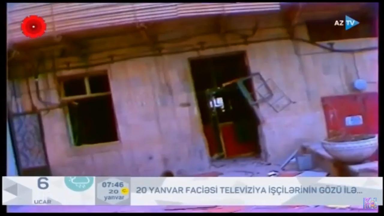 Televiziya işçiləri o gecəni xatırladılar...