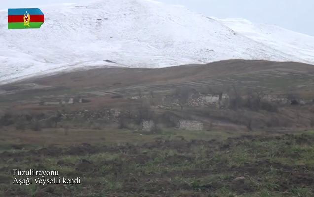 Füzulinin Aşağı Veysəlli kəndi