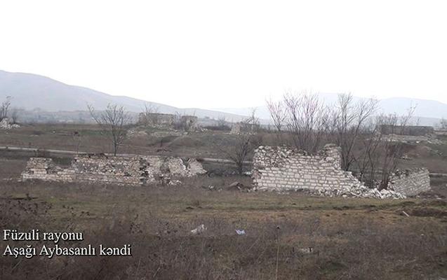Bu da Füzulinin Aşağı Aybasanlı kəndi