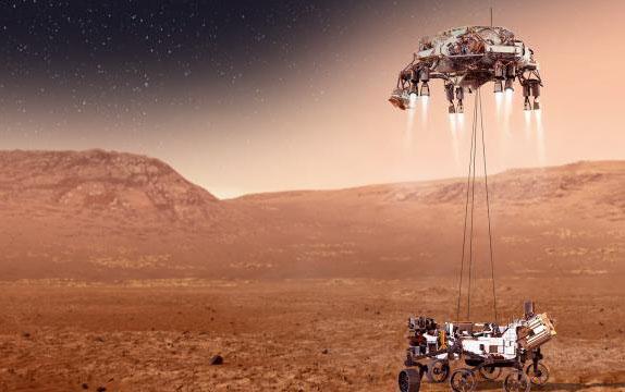 NASA Marsa enişin görüntülərini və planetin səsini yaydı