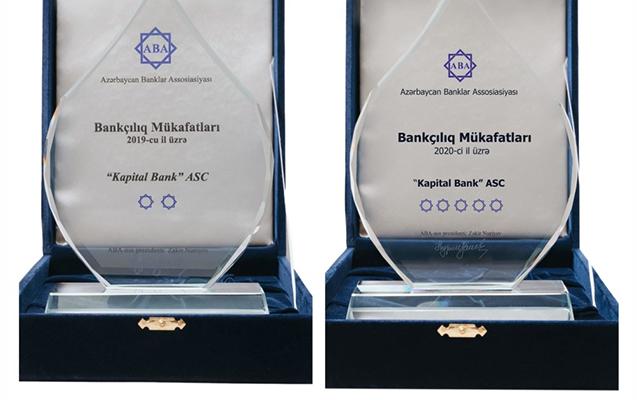 Kapital Bank 7 nominasiyada qalib oldu
