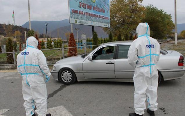 Bakıda koronavirus xəstələri saxlanıldı