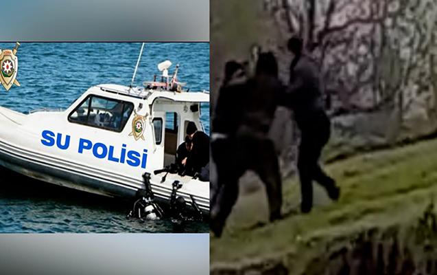 Su polisinin narkotik əməliyyatının görüntüləri