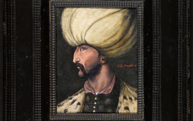 Sultan Süleymanın portreti satıldı