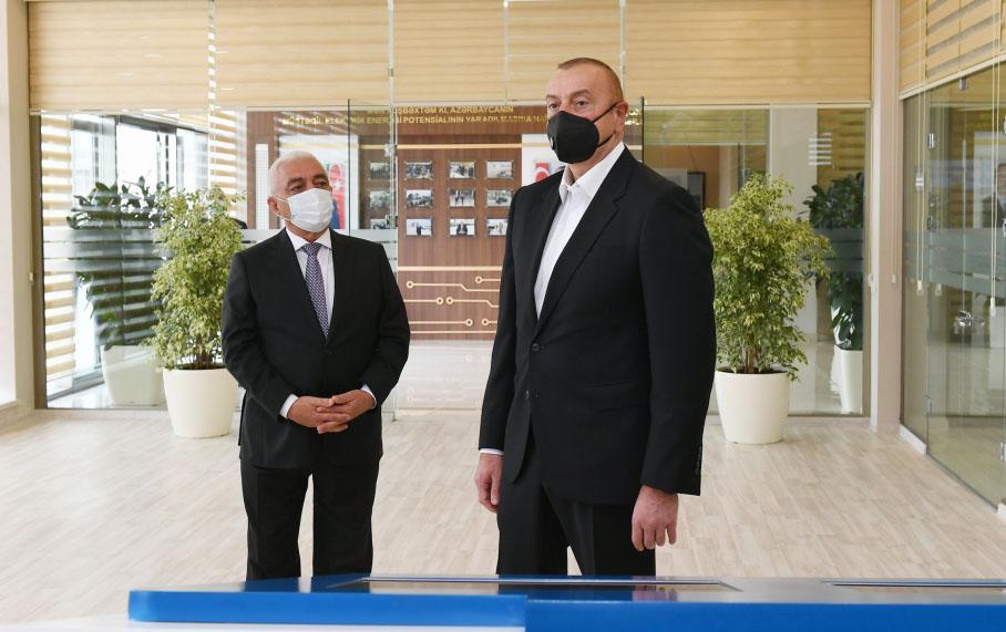 Prezident Qarabağda görülən işlərlə maraqlandı