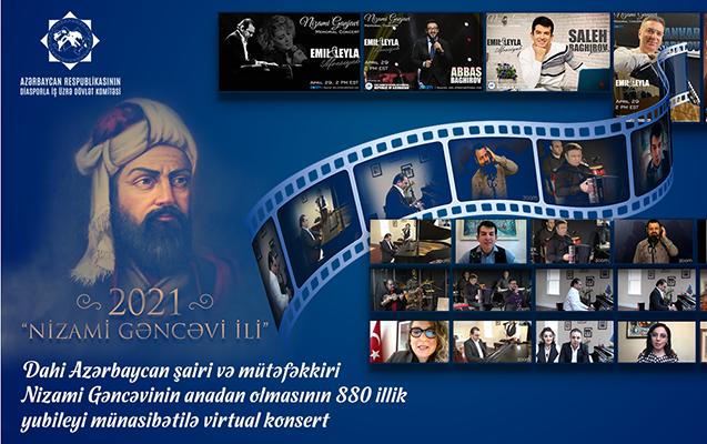 ABŞ-da Nizami Gəncəviyə həsr edilmiş konsert