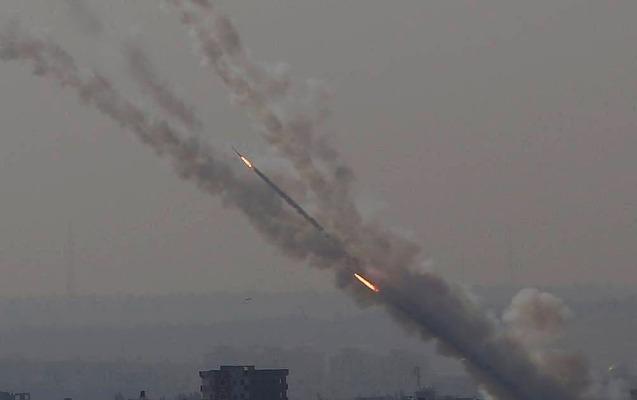 3 gündə Qəzza zolağından İsrailə 1,5 mindən çox raket buraxılıb