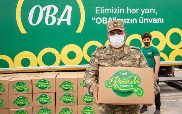 """""""OBA"""" Xocavənddə şəhid və qazi ailələrini ziyarət edib"""