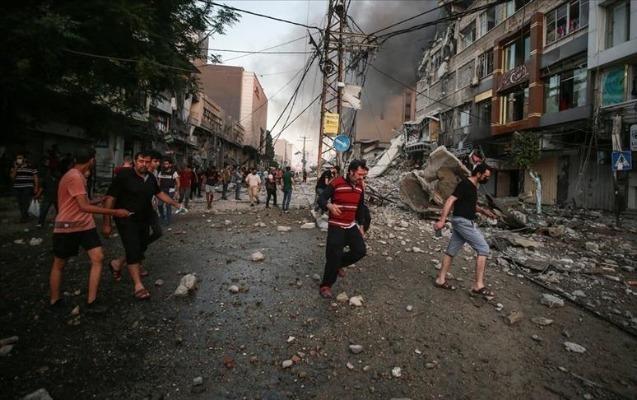 İsrailin Qəzzaya zərbələri nəticəsində 65 fələstinli ölüb