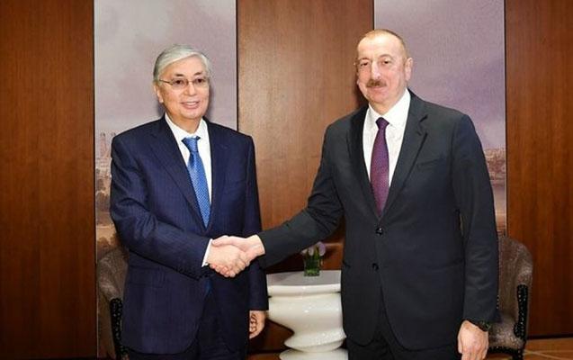İlham Əliyev Qazaxıstan prezidenti ilə telefonla danışdı