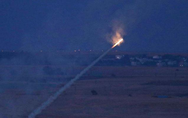 Suriyadan İsrailə raketlər atıldı