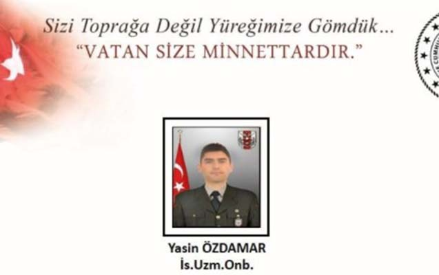 Türkiyə şəhid verib