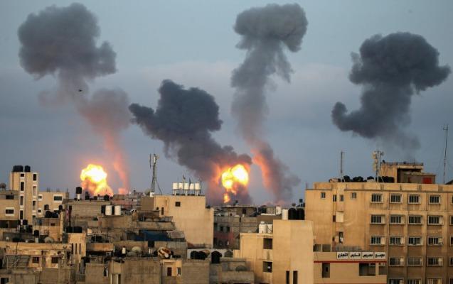 Ötən gecə İsrailə 200-dən çox raket atılıb