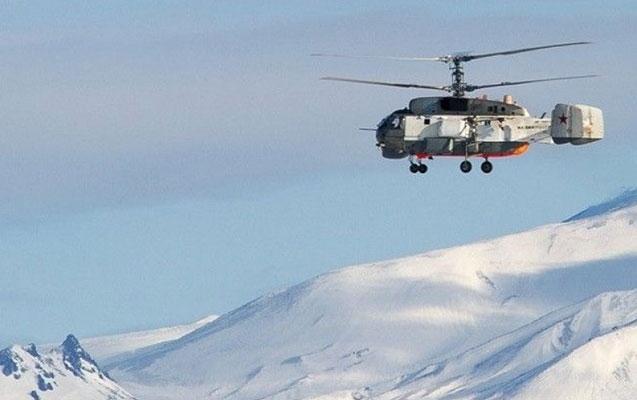 Rusiyada helikopter qəzaya uğradı