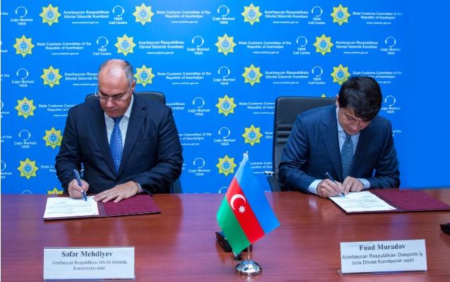 Gömrük və Diaspor Komitələri Anlaşma Memorandumu imzaladı